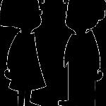 2 Kinder Schattenzeichnung 150x150 - Diskriminierung im Bildungsbereich